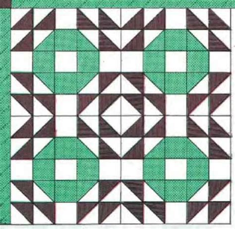 crown of thorns block pattern freequilt