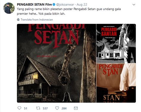 film online pengabdi setan moment marketing pengabdi setan tipsjualonline
