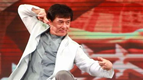 hong kong kid actor jackie chan happy with serious karate kid role