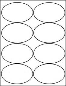 oval 4 x 2 1 2 inch white matte labels 100 sheets 4319m