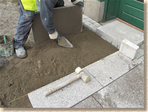 How To Lay Patio Slabs by Patio Slabs Laying Modern Patio Outdoor
