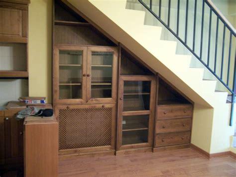 foto mueble bajo escalera de la alacena segoviana sl