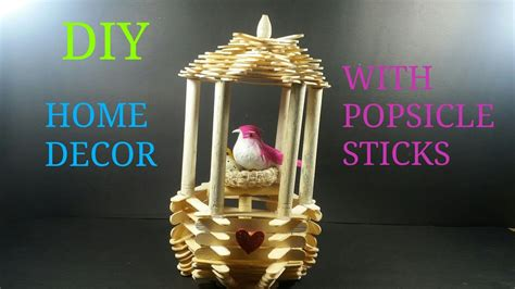 home decor sticks diy home decor with popsicle sticks how to make cwm 11