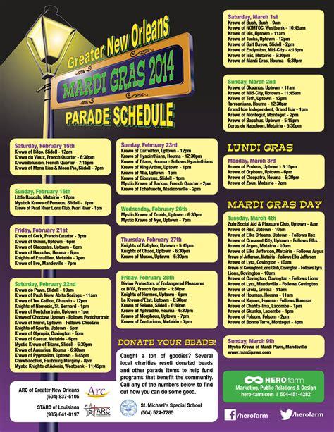 New Orleans Calendar Of Events 2015 Miss Mardi Gras 2016 St Louis