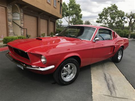 ford mustang manual for sale 1968 ford mustang fastback 289 4 speed manual for sale