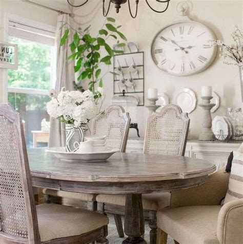 wonderful french country dining room table decor ideas