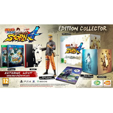 shippuden ultimate 4 collectors s