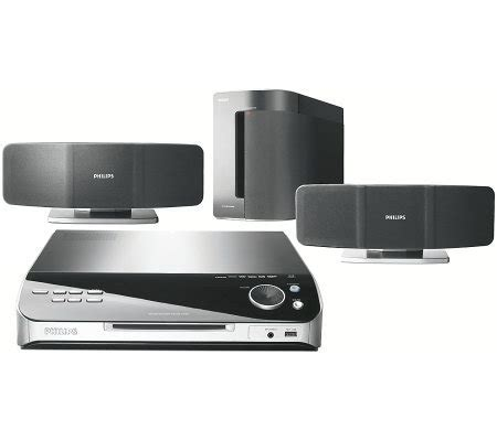 Home Theater Philips Htd3510 philips hts6500 500 watt dvd home theater system page 1