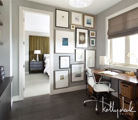 home office wall colors home office paint color with dark wood floor and desk