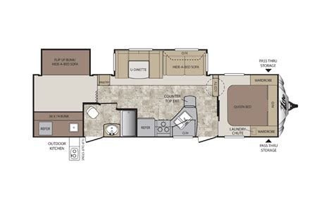 keystone fifth wheel floor plans keystone cougar x lite travel trailer chilhowee rv