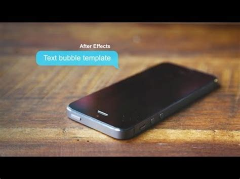 Text Bubbles Galore After Effects Template Youtube After Effects Text Templates