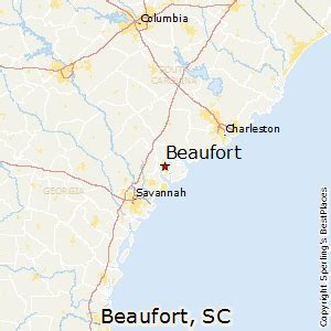 beaufort sc map best places to live in beaufort south carolina