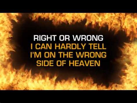 the wrong side of five finger death punch wrong side of heaven karaoke youtube