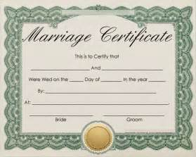 marriage certificate templates free free program marriage license template nikoramar