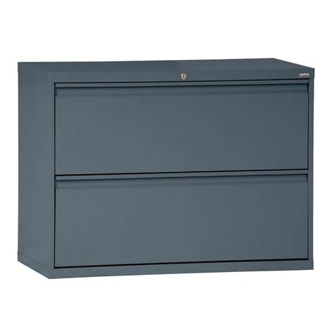 42 lateral file cabinet sandusky 800 series 42 in w 2 drawer pull lateral