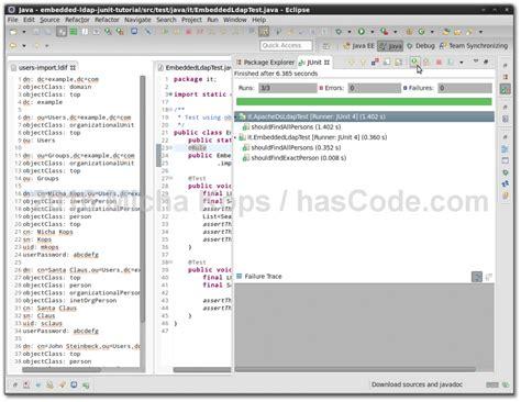 tutorial java ldap hascode com 187 blog archive 187 ldap testing with java