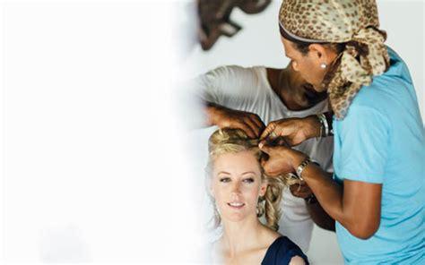 hair and makeup perfectionist fiji fiji family getaway wedding polka dot bride