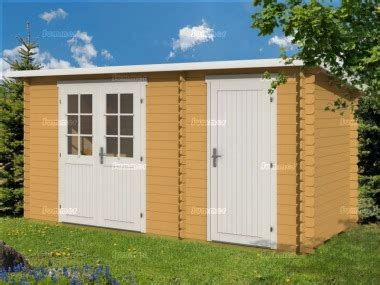 Room Sheds by Two Room Pent Log Cabin 346 Shed And Summerhouse