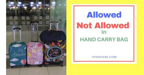 what is the allowed carry on bag and check in baggage rate things not allowed on hand carry baggage during flights