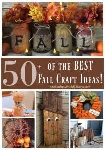 Diy Home Decor Craft Ideas by Over 50 Of The Best Diy Fall Craft Ideas Kitchen Fun