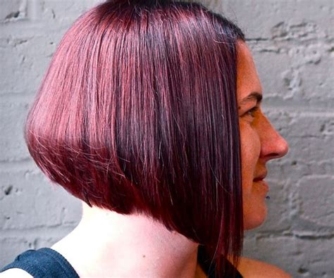 graduated bob 2014 short hairstyles red layered graduated bob hairstyle for