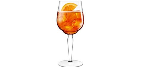 bicchieri aperol un bicchiere di design per aperol fib sardegna