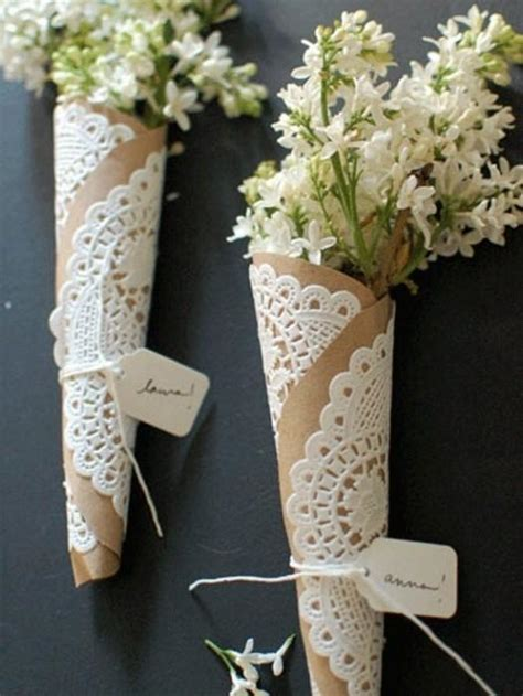 Ambientaci 243 N Ideas Para Tu Casamiento Paperblog Flower Cone Template