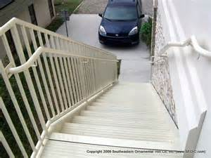 Exterior Stair Railing Systems by Commercial Aluminum Stair System