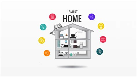 Modern Ideas For Living Rooms by Smart Home Prezi Template Prezibase