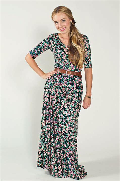 Maxi Dress Brown Belt lularoe maxi dress this floral print is really