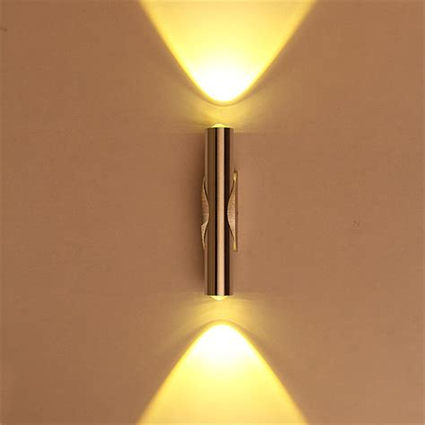 Up Sconce new 2w 6w led wall light up l sconce mirror spot