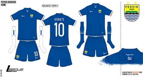 desain jersey persib persib bandung fantasy 15 16 home away kits league