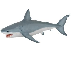 Papo White papo white shark 163 4 29 toys learning