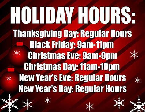 printable christmas hours sign holiday hours sign