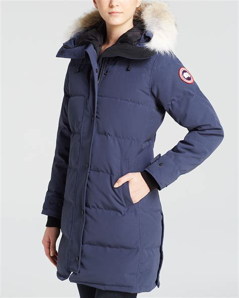 Jaspria Jas Exclusive Blue Navy canada goose shelburne parka bloomingdale s exclusive