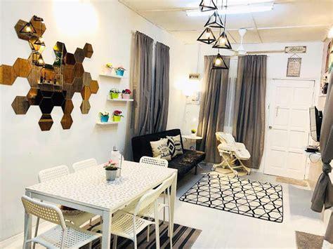 Ikea Mammut Bangku Kecil Anak Dalam Luar Ruang Putih gambar hanya perlu bajet rm 2 000 sahaja untuk ubah suai kediaman ini impiana