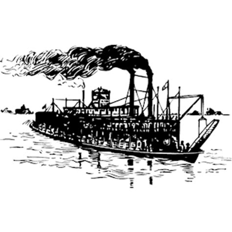 steamboat vector steamboat clipart cliparts of steamboat free download
