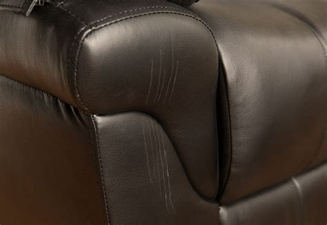 how to fix a ripped leather couch furniture repair before and after pictures guardsman