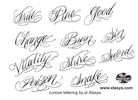 tattoo fonts names calligraphy script font generator free s imagine
