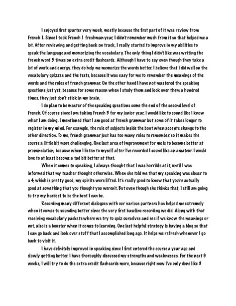 examples of reflective essay confirmation reflective essay