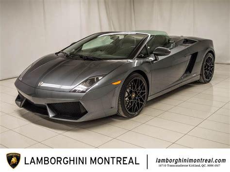Lamborghini For Sale Montreal 2010 Lamborghini Gallardo For Sale In Montr 233 Al
