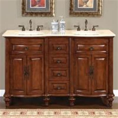52 Inch Sink Bathroom Vanity by 52 Inch Small Sink Vanity With Baltic Brown