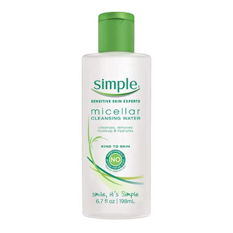 Water Only Detox Reviews by Simple Cleansing Micellar Water Shespeaks Reviews