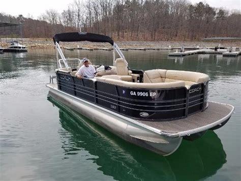 used coach pontoon coach pontoon boats for sale