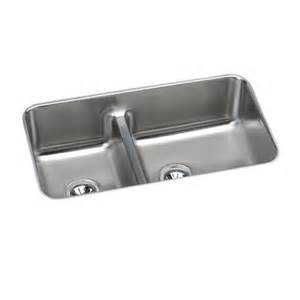 elkay eluhaqd32179 gourmet undermount kitchen sink in