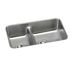Elkay Kitchen Sink Elkay Eluhaqd32179 Gourmet Undermount Kitchen Sink In