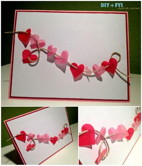 diy valentines cards diy happy valentine s day diy fyi creatively created