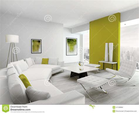 salon vert et par blanc color 233 moderne int 233 rieur