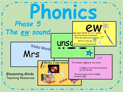 printable phonics games phase 5 ew sound popflyboys