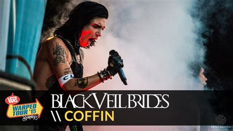 black veil brides coffin live 2015 vans warped tour